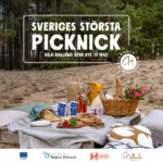 Hela Halland äter ute - Sveriges största picknick!